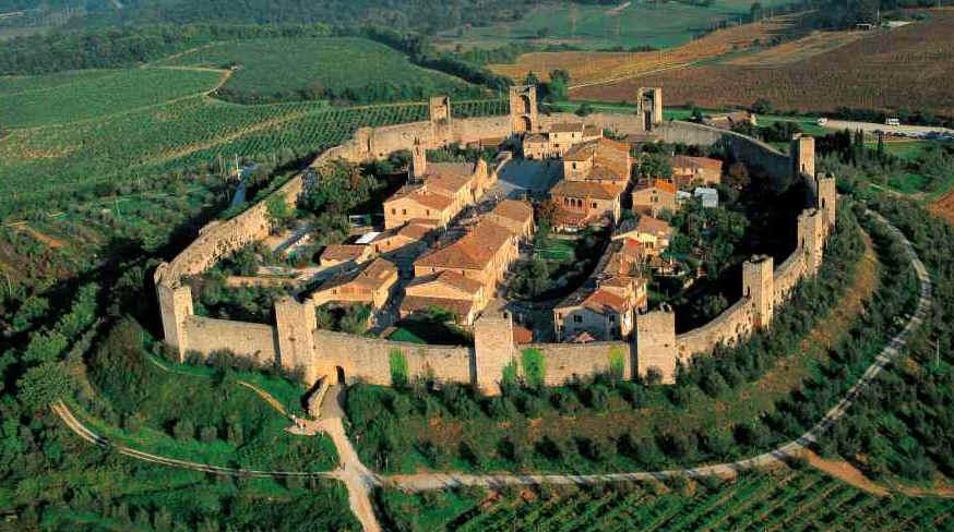 Monteriggioni in Tuscany