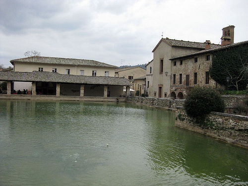 Bagno Vignoni: hot springs in Val D'Orcia  Places itineraries trips & events Around Tuscany