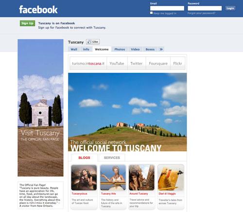Facebook Tuscany
