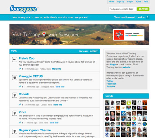 foursquare Visit Tuscany