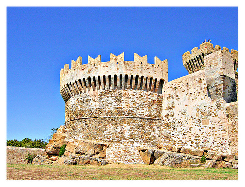 Castle of Populonia by Alessandra Elle