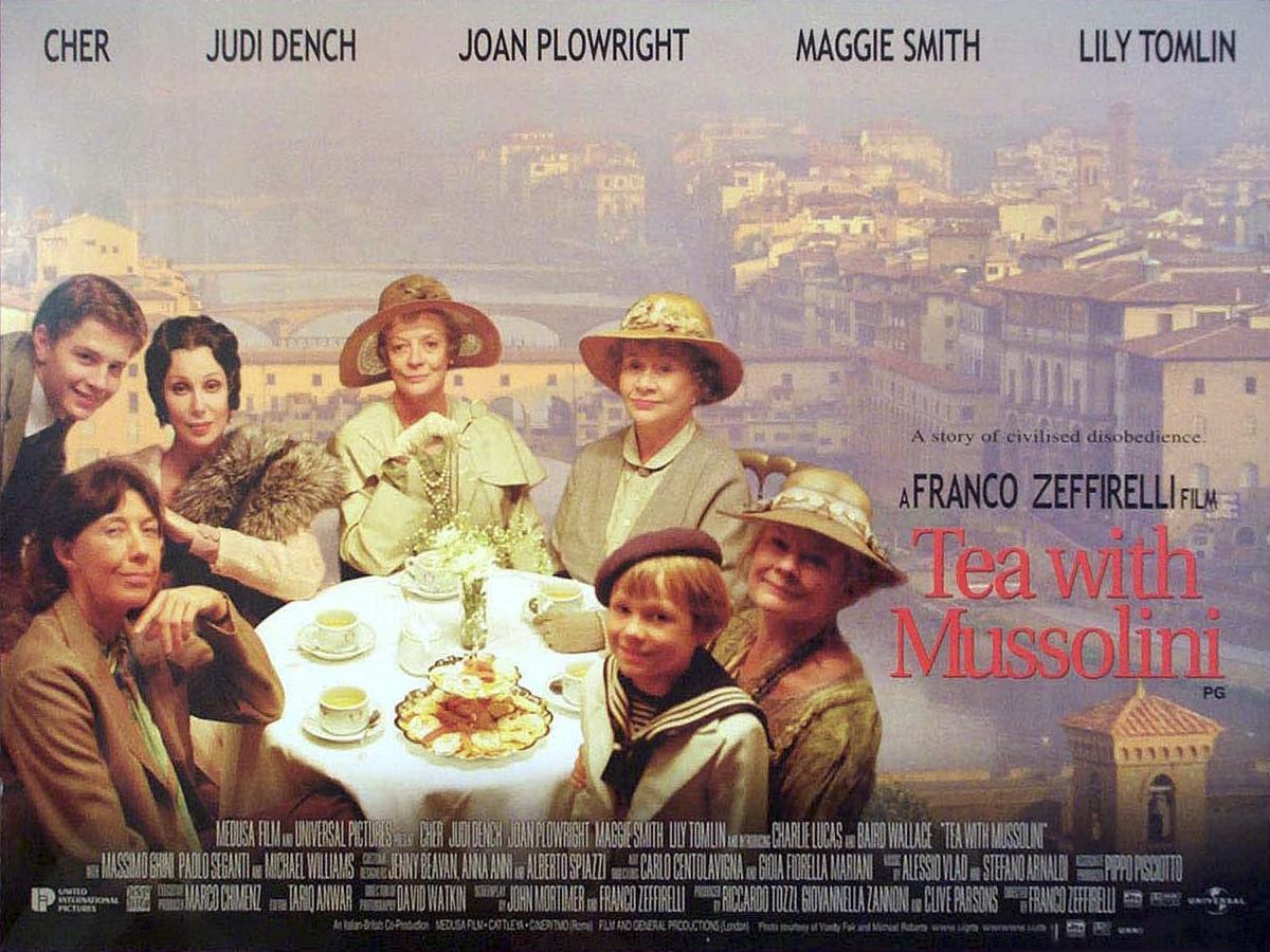 Чай с муссолини  tea with mussolini 1999 cмотреть