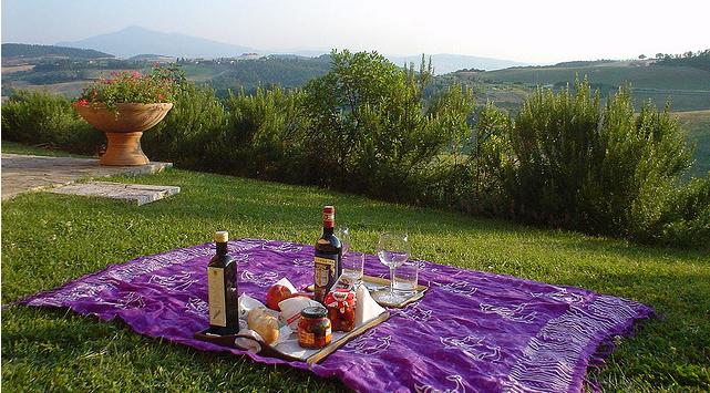 picnic tuscany