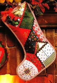 Befana leaves gifts in a stocking