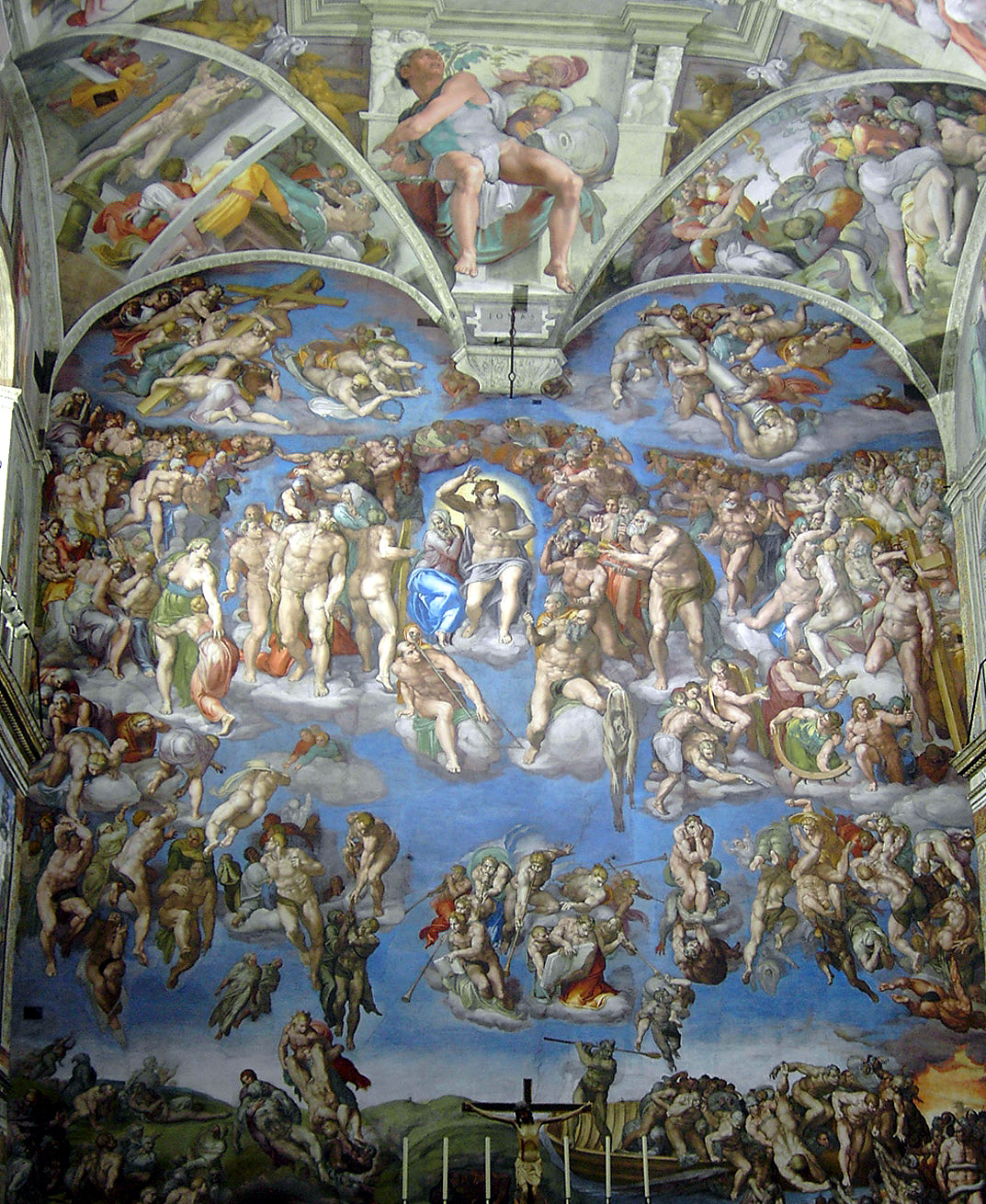 Fresco by Michelangelo