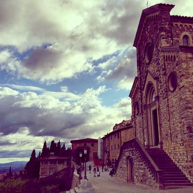 The magnificent Church of St. Bartholomew. [Photo Credits: Kinzica Sorrenti - Tuscany Social Media Team]