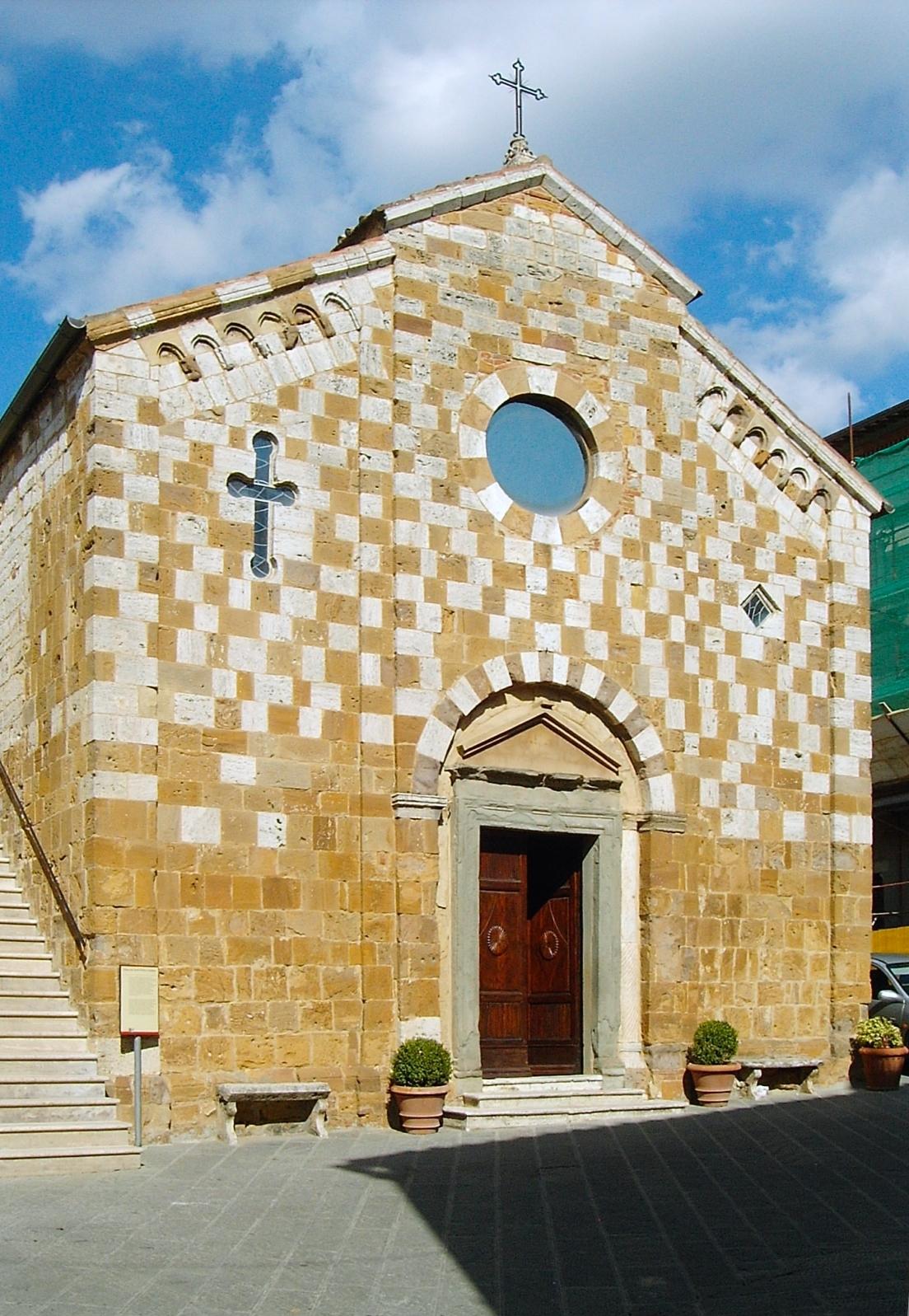 Trequanda parish church  [Photo Credits: Nickm]