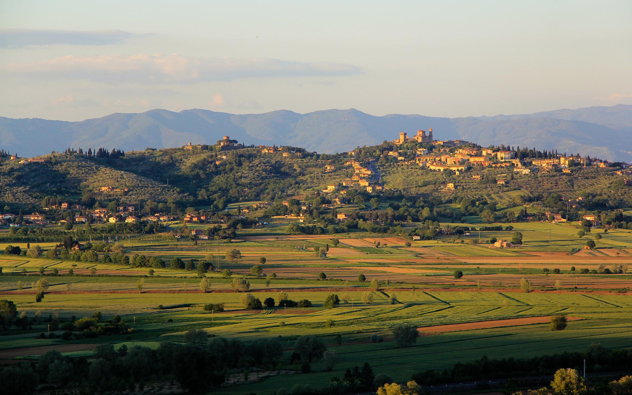 Lucignano skyline [Photo Credits: o.lee]