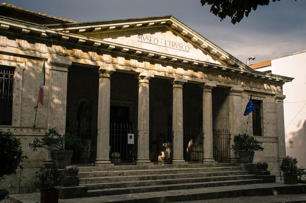 National Archaeological Museum Chiusi Tuscany