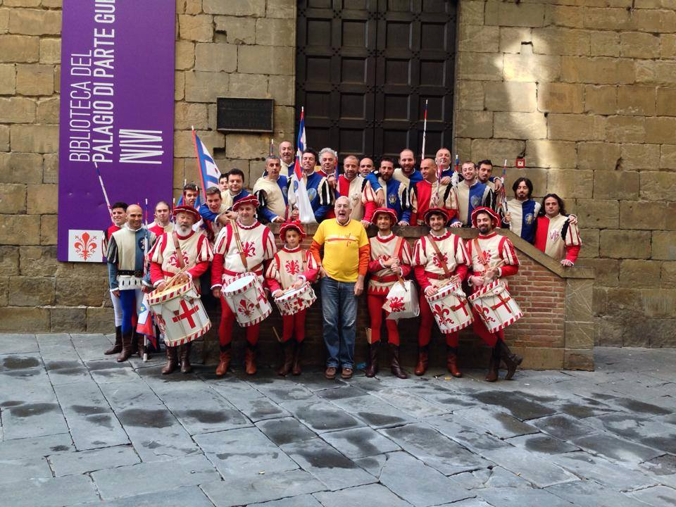 Bandierai degli Uffizi di Firenze