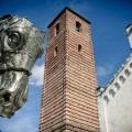 Bell tower on Pietrasanta