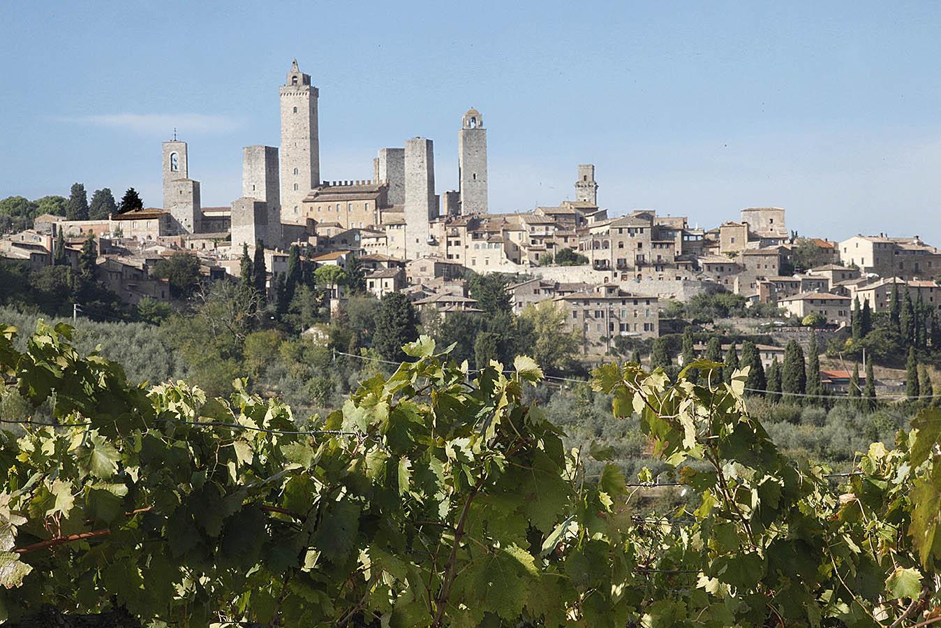 San Gimignano, Via Francigena