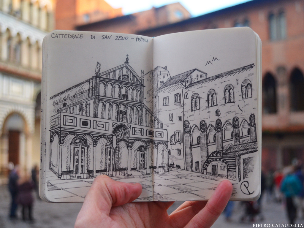 Pistoia CityLiveSketch