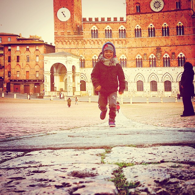 Kid in Siena