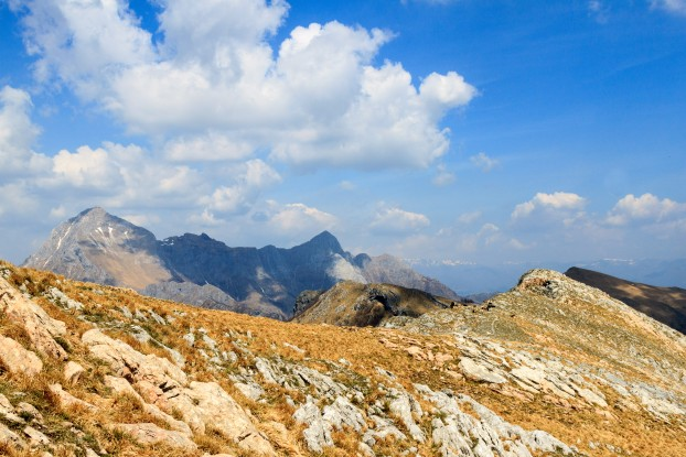 A view on the Apuan Alps