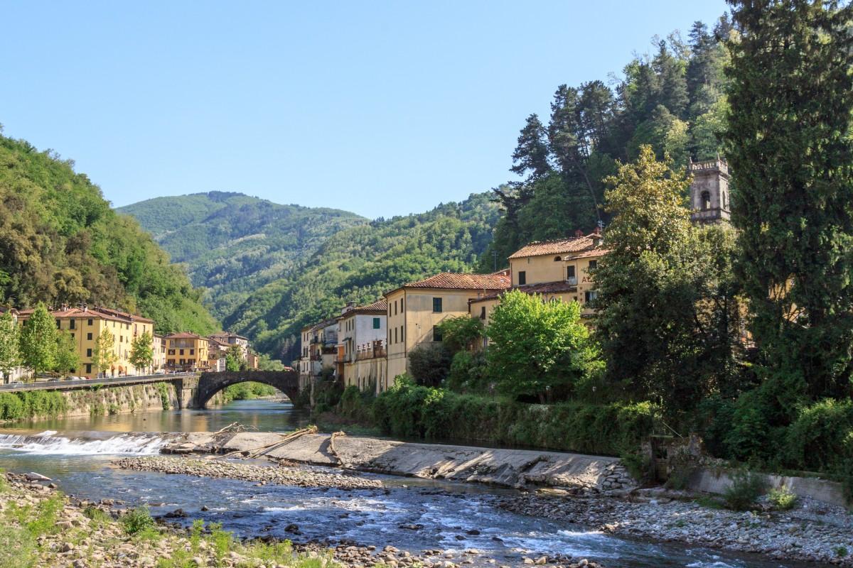 s Bagni di Lucca Italie