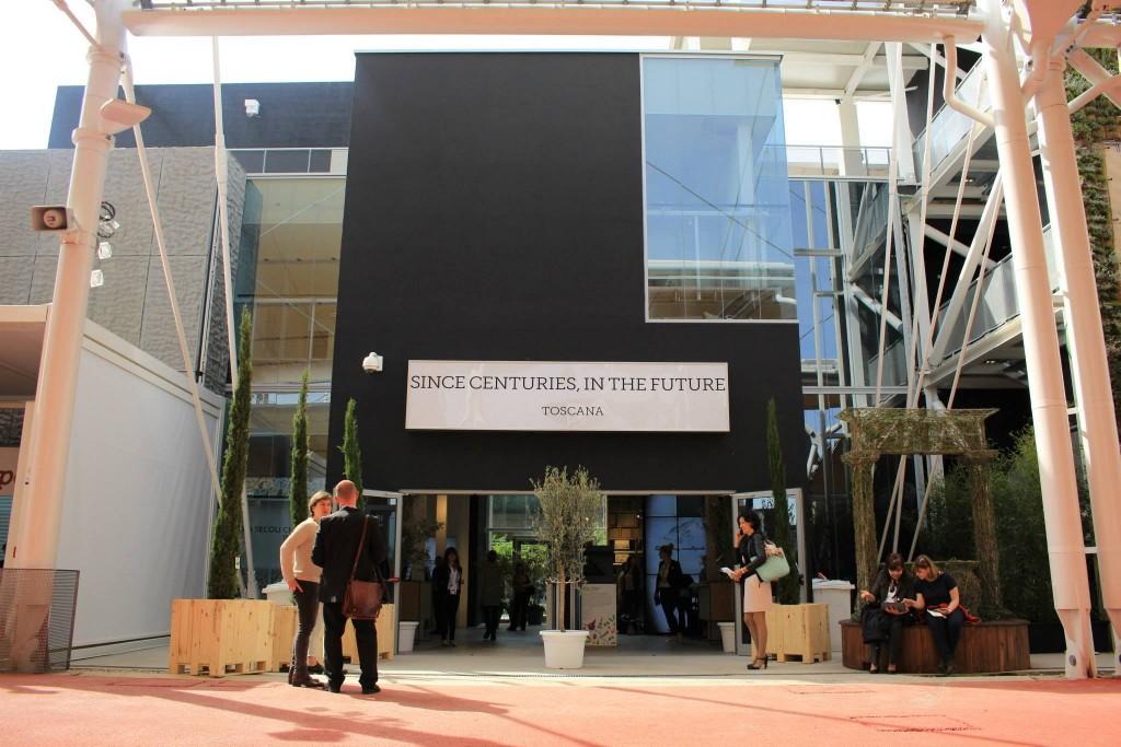 Expo Milano Stands : Tuscany at expo milano around