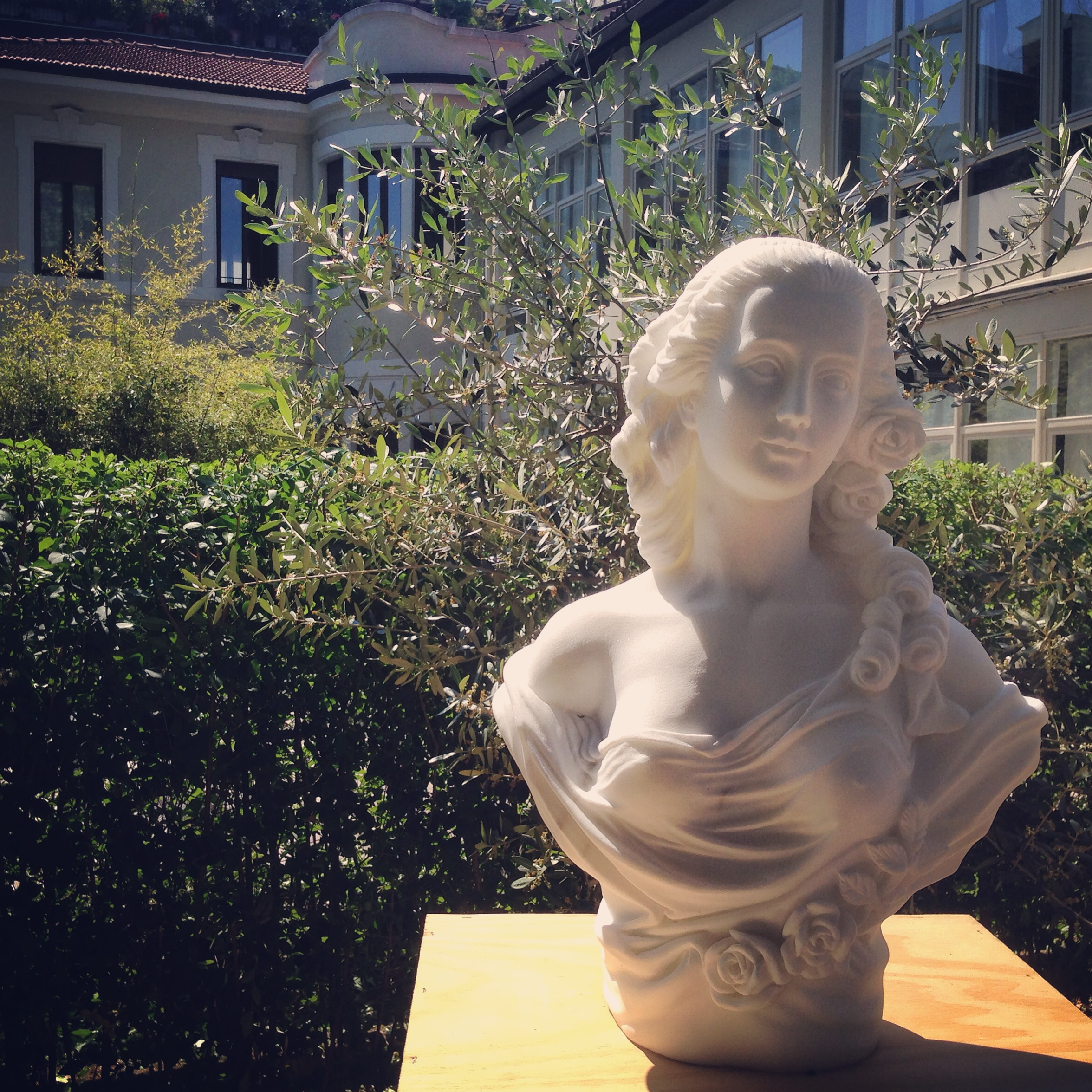 Marble Sculpture FuoriExpo Tuscany