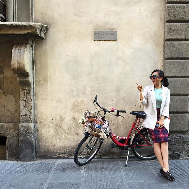 Bicycle florence #wwim12firenze by @scooterromatours