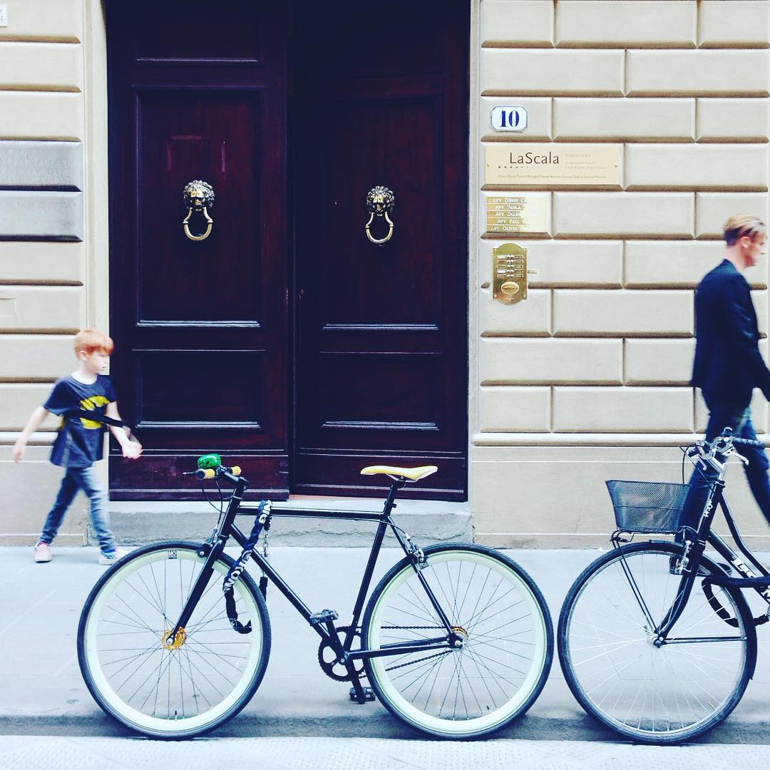 Bikes and style in Florence by @bikesinflorence #wwim12firenze