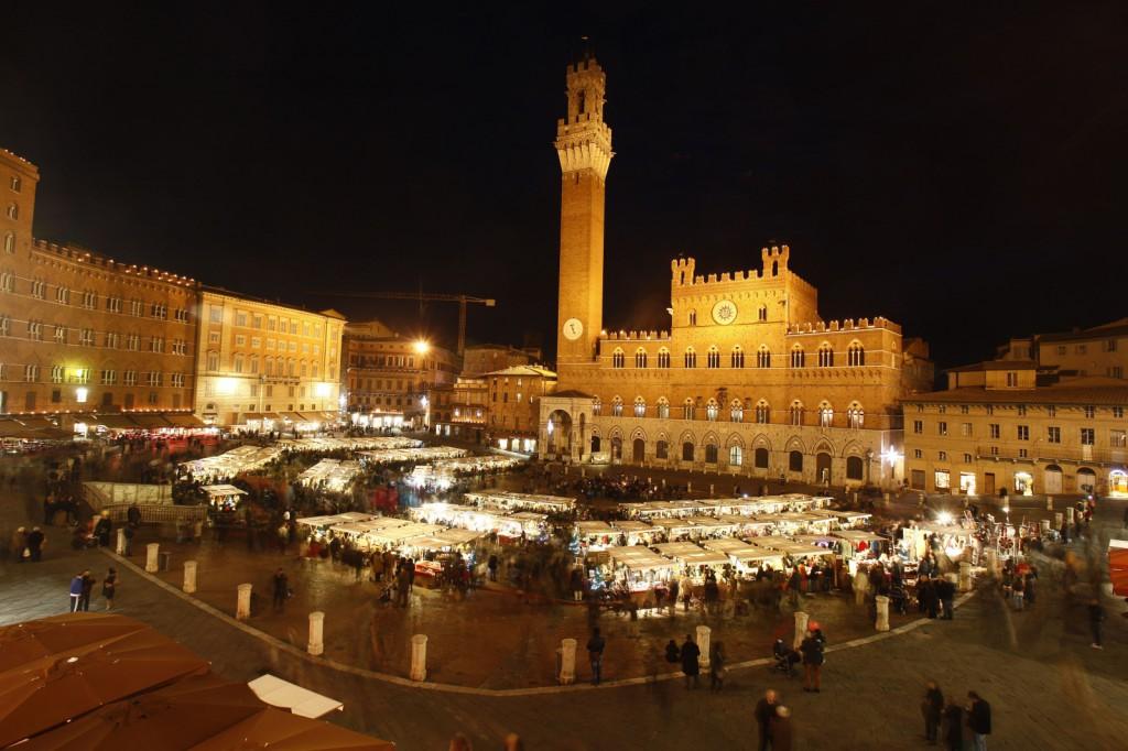 Mercato del Campo in Siena