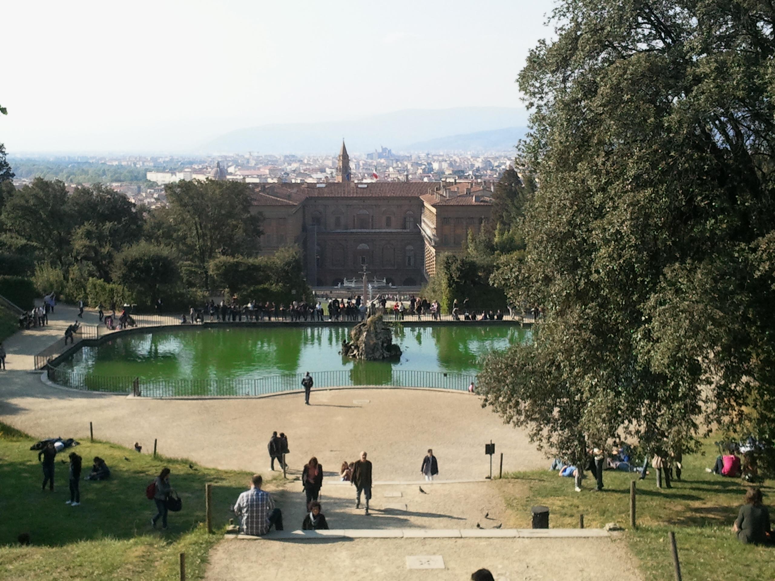 La fontana del giardino fiorentino più famoso