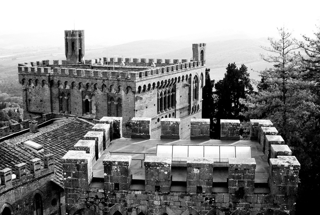 Il Castello di Brolio [Photo Credits: Thomas Hawk bit.ly/UaxuIO]