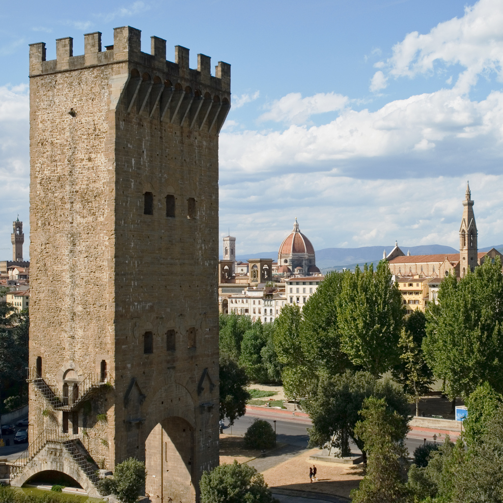 Torre di San niccolò a Firenze [Photo Credits: Rik_C bit.ly/ZB81bw]