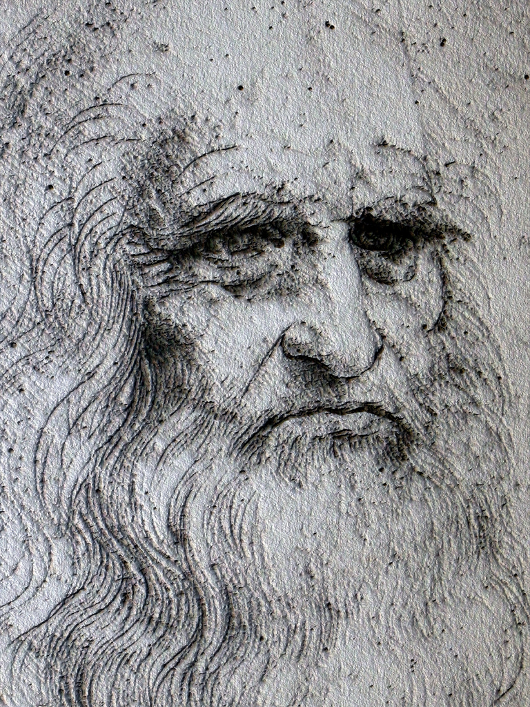 Leonardo da Vinci [Photo Credits: Mamjodh in Flickr]