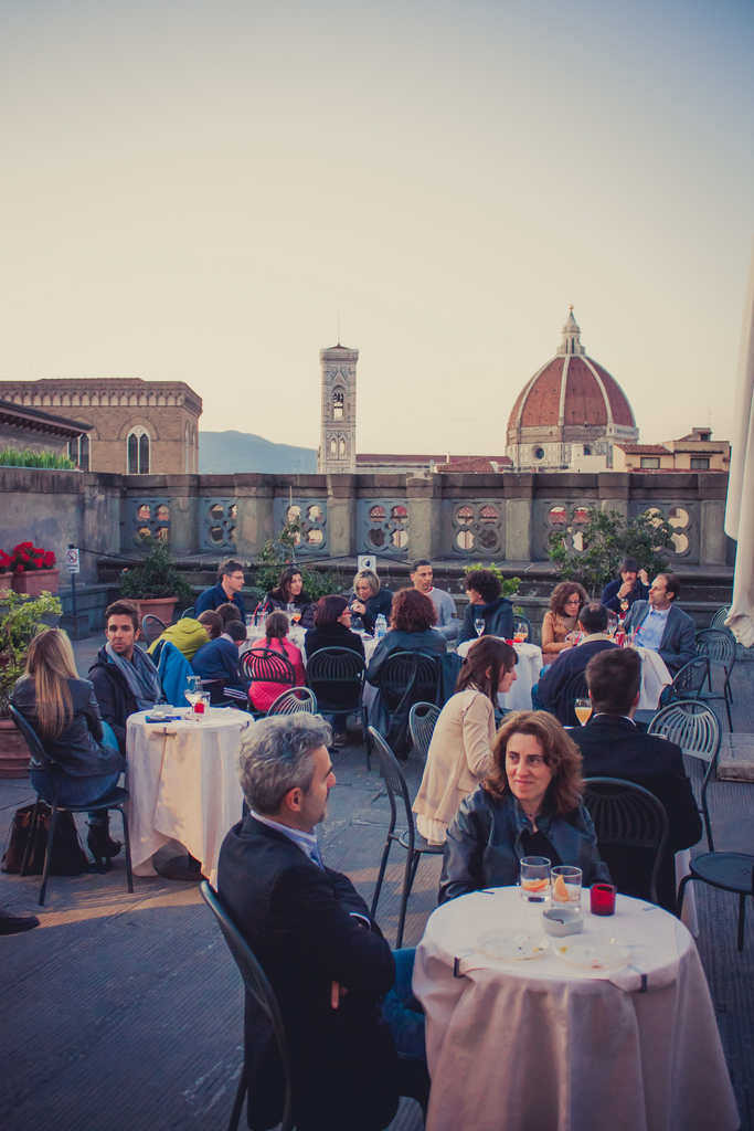 Aperitivo ad Arte agli Uffizi di Firenze [Photo Credits: ale2000 in Flickr]