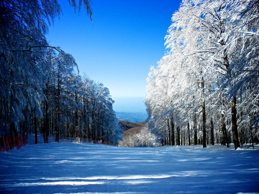 monte amiata neve sci