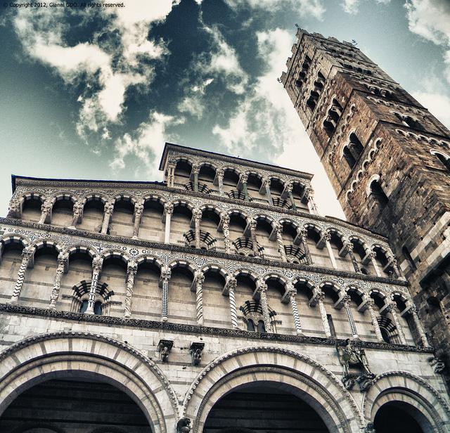 Il Duomo di San Martino a Lucca [Photo Credits: Gianni GDO]