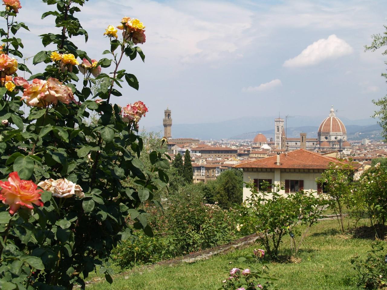 Ville e giardini medicei della toscana un patrimonio - Giardino con rose ...
