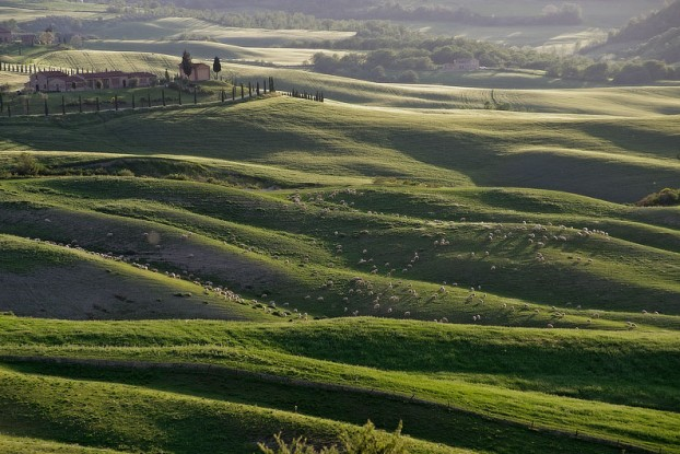 La zona di produzione del formaggio delle Terre di Siena [Photo Credits: www.lamiaterradisiena.it]