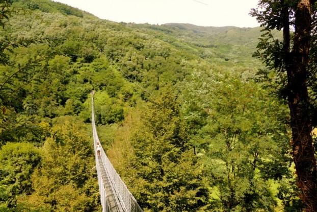 ponte sospeso san marcello pistoiese toscana pistoia mammiano italia pontei alti