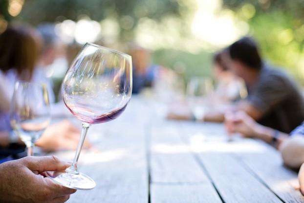 calice di vino, toscana, chianti