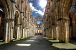 L'Abbazia di San Galgano in Toscana