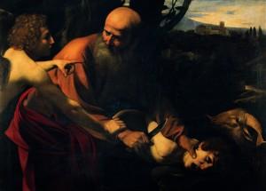 Caravaggio_Sacrificio di Isacco_sm