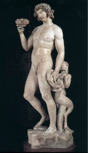 Michelangelo: Bacchus, Bargello Museum. Image in the public domain/ wikimedia