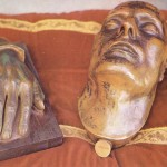 Napoleon's death mask - source: www.isoladelba-storia.com