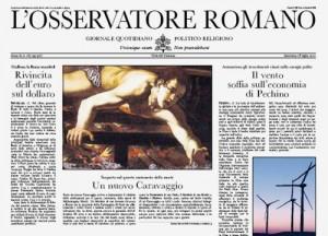osservatore-romano-caravaggio