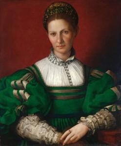 Bronzino, Portrait of a Woman. Windsor Castle.