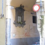 Via dell'Inferno from via delle Belle Donne