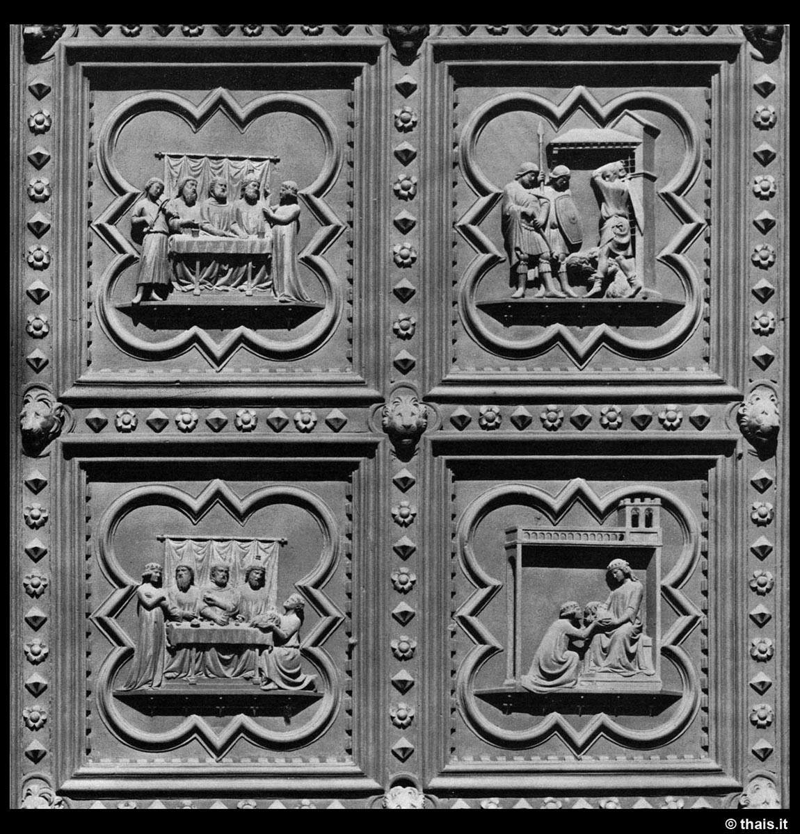 Andrea Pisano South door (detail). Photo: Thais.it