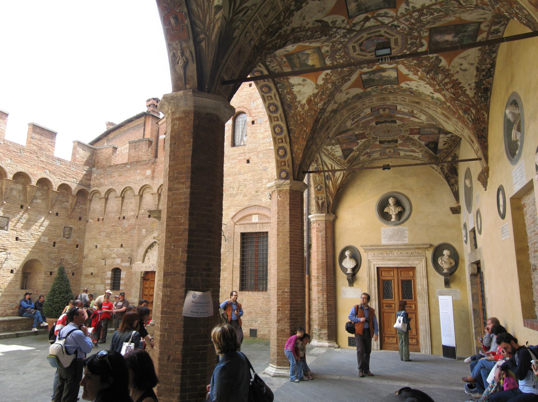 Siena Palace Chigi Saracini Tuscany