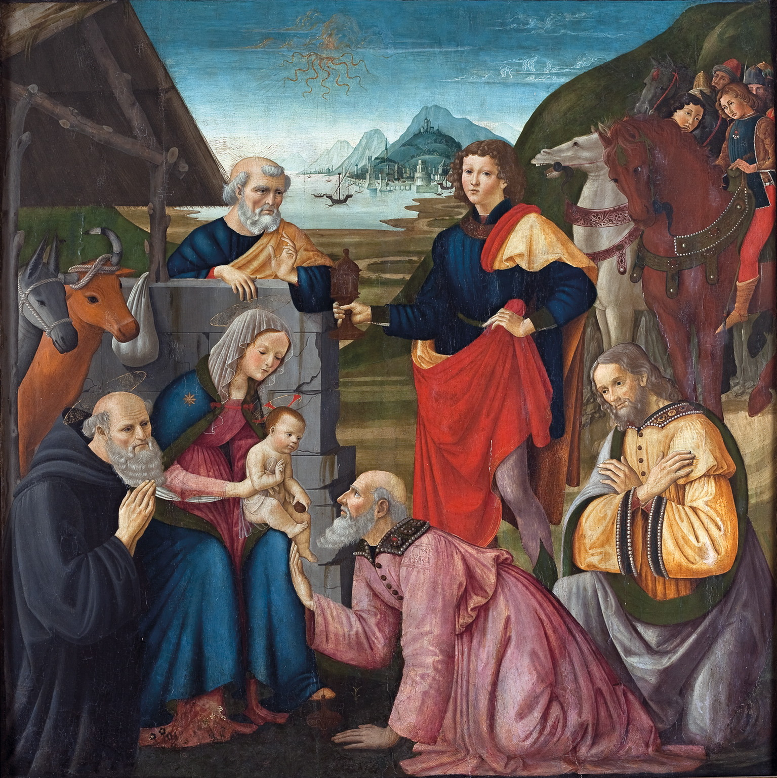 Displaying 18> Images For - Nativity Scene Paintings Renaissance...