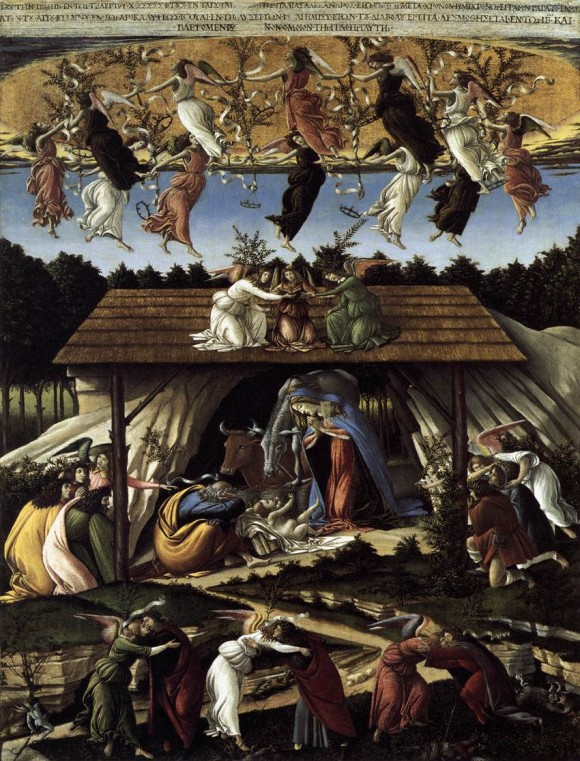 Botticelli, Mystical Nativity, London Natgall