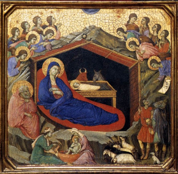 Duccio, Nativity Panel
