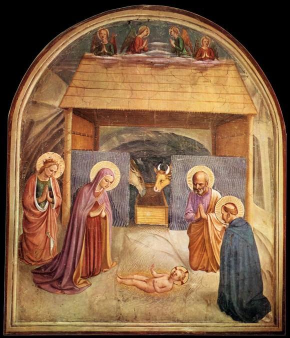 Fra Angelico (Benozzo Gozzoli?), Nativity @San Marco