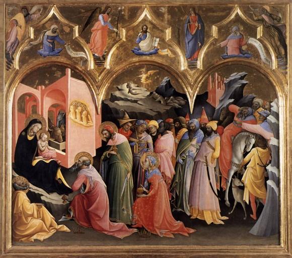 Lorenzo Monaco, Adoration (uffizi)